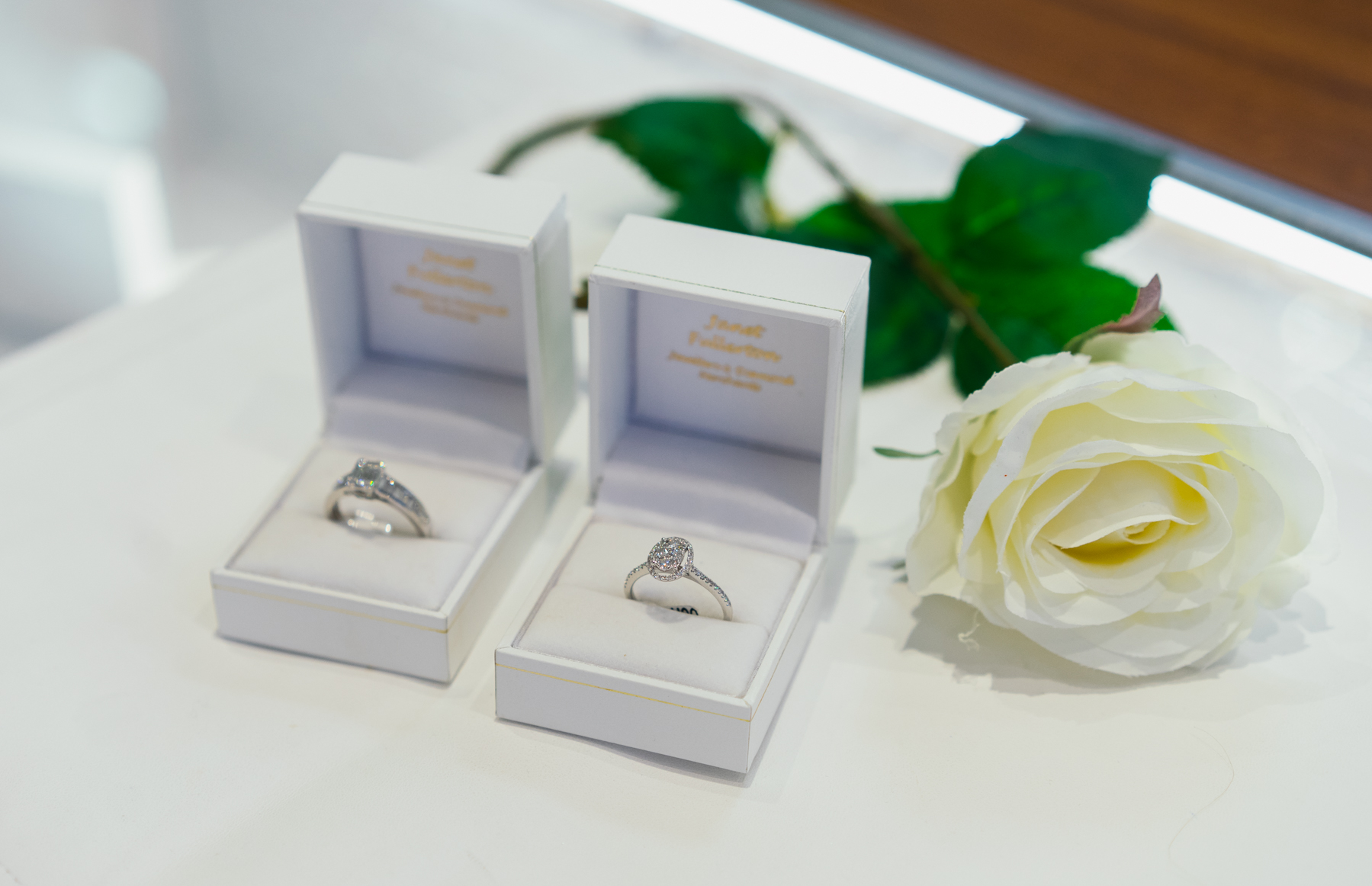 Diamonds are a speciality in Janet Fullerton Jewellers
