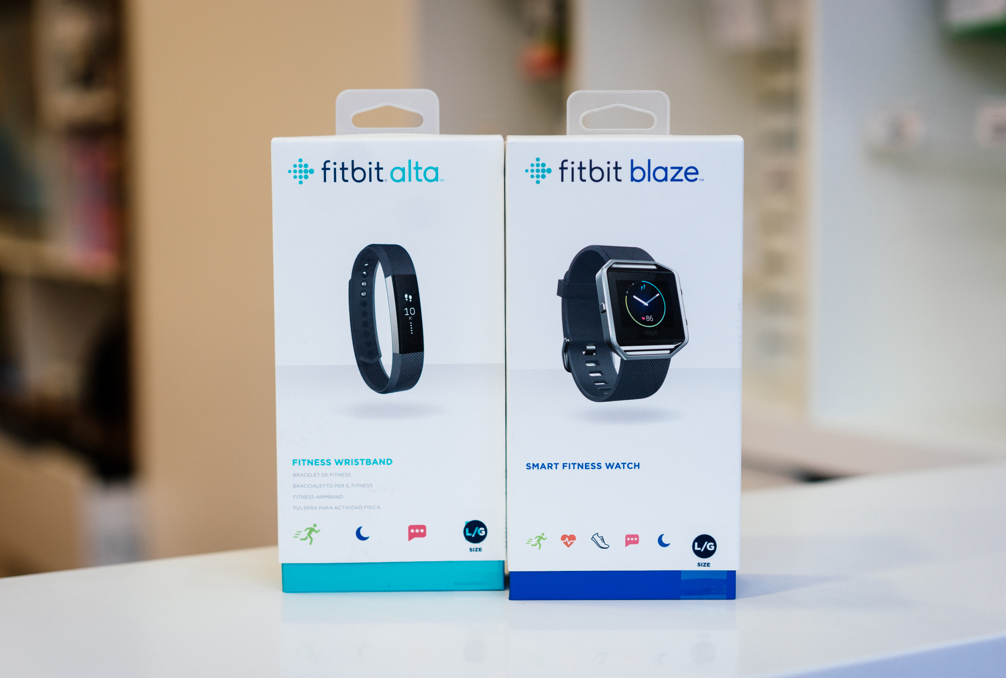 FitBit at O2 Main Street